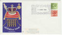 1980-11-12 Definitive Bklt Stamps Windsor FDC (55968)
