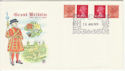 1979-08-28 Definitive Bklt Stamps Windsor FDC (55974)