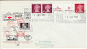 1980-01-16 10p Multi Value Coil Windsor FDC (55981)