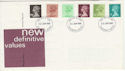 1980-01-30 Definitive Stamps Aylesbury FDC (55983)