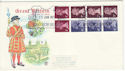 1977-06-13 50p Definitive Booklet Windsor FDC (55999)