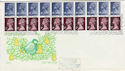 1978-11-15 Christmas Booklet Stamps Windsor FDC (56002)