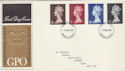 1969-03-05 Definitive High Values Windsor FDC (56013)