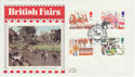 1983-10-05 British Fairs Northampton Silk FDC (56041)