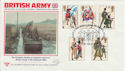 1983-07-06 Army Uniforms Salisbury Silk FDC (56043)