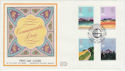 1983-03-09 Commonwealth Day London SW7 Silk FDC (56045)
