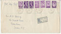 1958-08-18 Regional Definitive All Six Regions cds FDC (56072)
