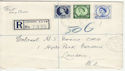 1953-11-02 Wilding Definitive Stamps London FDC (56080)