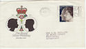 1972-11-20 Royal Wedding Liverpool Slogan FDC (56139)