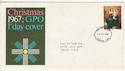1967-10-18 Christmas Stamp London FDI (56167)