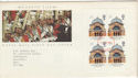 1990-03-20 London Life PSB Pane 4x20 FDC (56254)