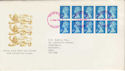1989-08-22 10x2nd Harrison Printing FDC (56266)