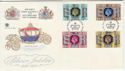 1977-05-11 Silver Jubilee Stamps Windsor FDC (56269)