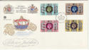 1977-05-11 Silver Jubilee Stamps Windsor FDC (56270)