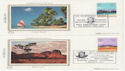 1983-03-09 Commonwealth Day Benham Silks x4 FDC (56282)