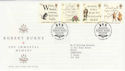 1996-01-25 Robert Burns Stamps Bureau FDC (56290)
