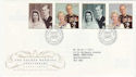 1997-11-13 Golden Wedding Anniv Bureau FDC (56316)