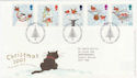 2001-11-06 Christmas Stamps T/House FDC (56343)