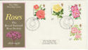 1976-06-30 Roses Stamps Bureau FDC (56359)