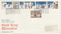 1973-11-28 Christmas Stamps Bethlehem FDC (56367)
