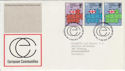 1973-01-03 European Communities Stamps Bureau FDC (56420)