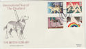 1981-03-25 Disabled Year British Library Windsor FDC (56494)
