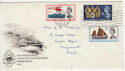 1963-05-31 Lifeboat Stamps Weymouth FDC (56496)