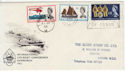 1963-05-31 Lifeboat Stamps London cds + Slogan FDC (56648)