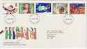 1981-11-18 Christmas Stamps FDC (56649)