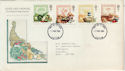 1989-03-07 Food and Farming Stamps FDC [Faded] (56658)