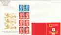 2000-04-27 FW12 Booklet Stamps Windsor FDC (56676)