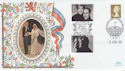 1999-06-15 Royal Wedding Benham Silk FDC (56790)