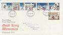 1973-11-28 Christmas Stamps London FDC (56818)