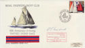 1976-08-17 RE No 31 Yacht Club Fastnet BF 1524 Signed (56820)