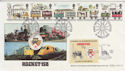 1980-03-12 Railways Rocket 150 Liverpool FDC (56828)