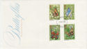 1981-05-13 Butterflies Stamps London FDC (56908)