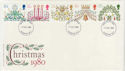 1980-11-19 Christmas Stamps London FDC (56952)