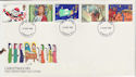 1981-11-18 Christmas Stamps London FDC (56954)