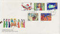 1981-11-18 Christmas Stamps London FDC (56955)