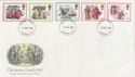 1982-11-17 Christmas Stamps London FDC (56958)