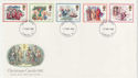 1982-11-17 Christmas Stamps London FDC (56959)