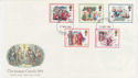 1982-11-17 Christmas Stamps London FDC (56961)