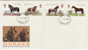 1978-07-05 Horse Stamps London FDC (56966)