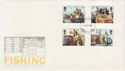1981-09-23 Fishing Stamps London FDC (56973)
