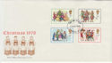 1978-11-22 Christmas Stamps London FDC (56994)