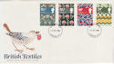 1982-07-23 British Textiles London FDC (57011)