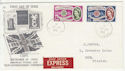 1960-09-19 Europa Stamps Rhyl cds FDC (57089)