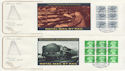 1986-03-18 British Rail PSB Full Panes x4 FDC (57113)