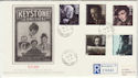 1985-10-08 British Films Stamps Hollywood cds FDC (57119)