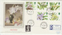 1993-03-16 Orchids Stamps Kew Gardens cds FDC (57122)